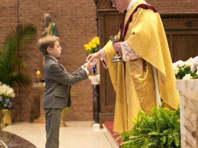 St Matthew School First Communion 2019