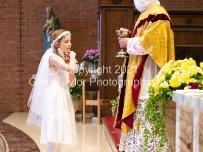 St Matthew First Communion 2021 12:30 Mass
