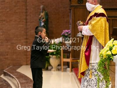 St Matthew First Communion 2021 3 PM Mass